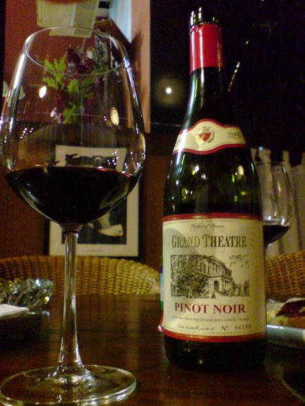 Outro francês que merece atenção é o Grand Theatre, Pinot Noir