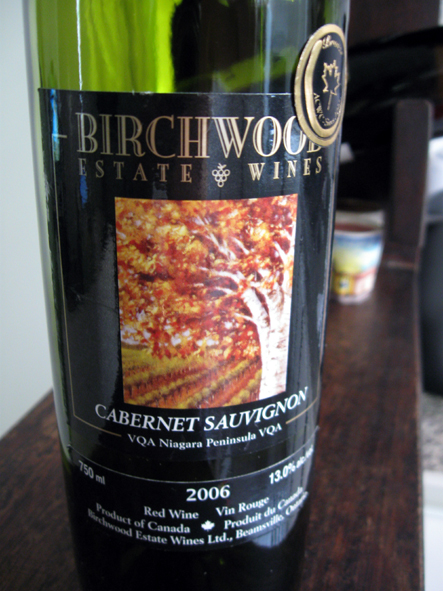 O Birchwood tem um sabor muito agradável / The Birchwood has a very pleasant taste